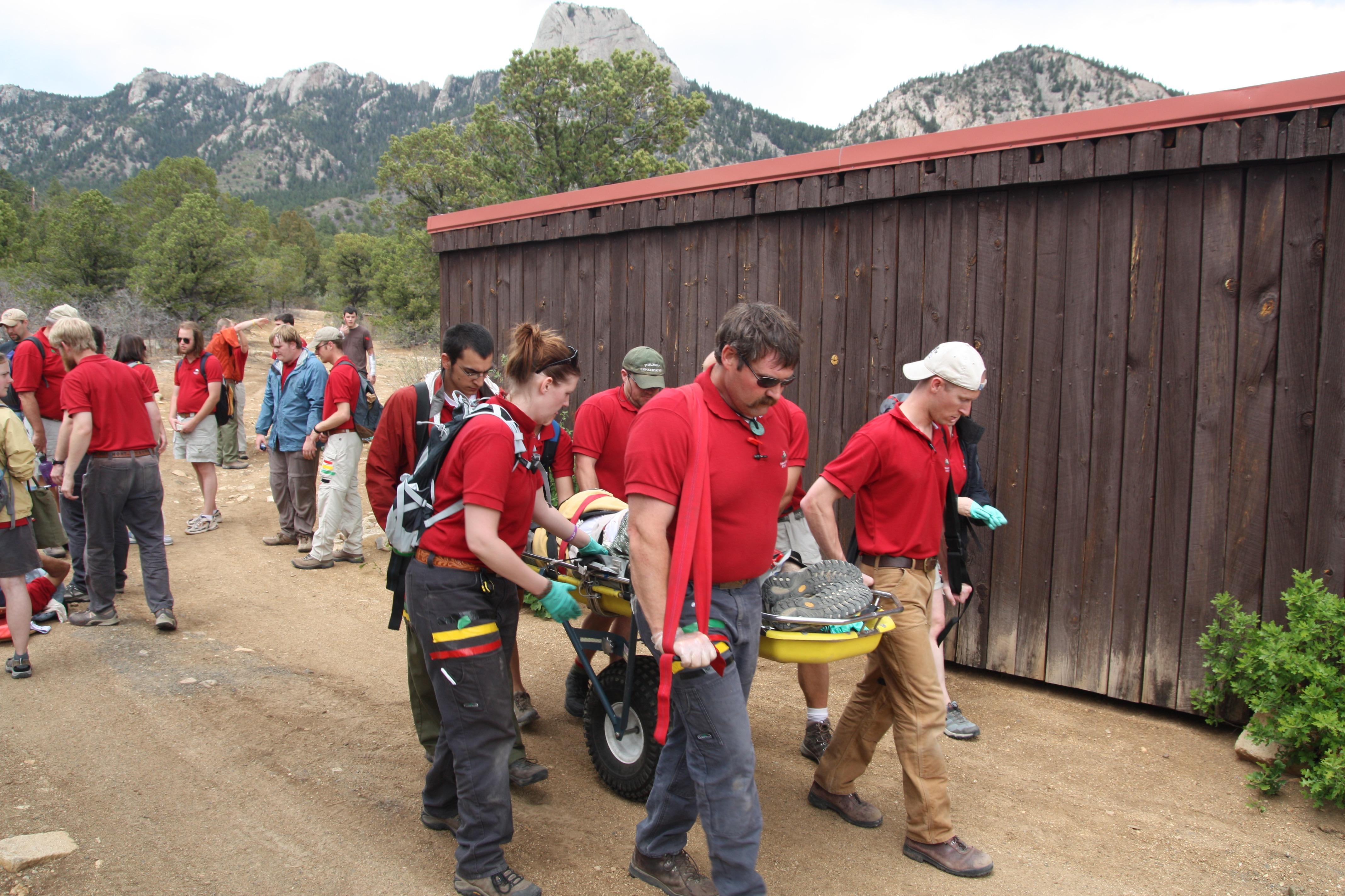 Wilderness First Responder Bridge Tigerclaw Medical
